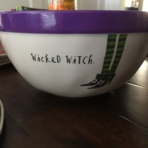 """Rae Dunn """"Wicked Witch"""" Melamine Bowl"""